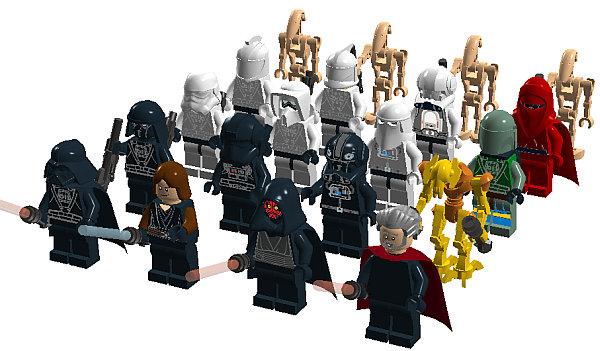 Free lego digital designer star wars villains bobs shop lego pronofoot35fo Images